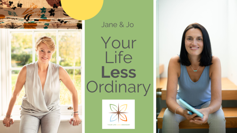Picture of Jo and Jane from Your Life Less Ordinary